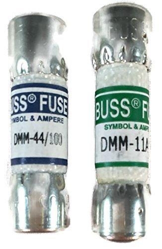 Combo Pack: 1piezas, FLUKE 80329311Amp 1000V y 1pieza FLUKE 943121440mA 1000V FLUKE multímetro digital Fusible de repuesto