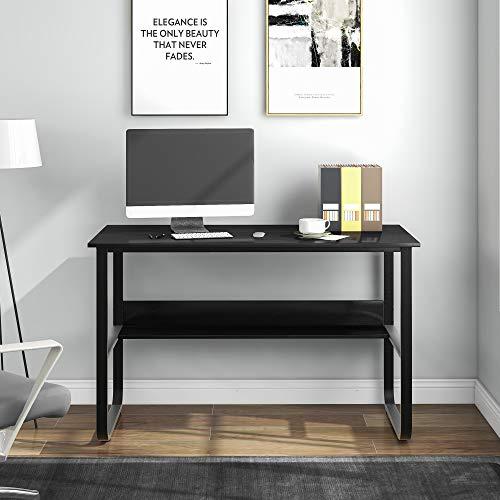 Q-HL Mesa Escritorio Mesa despacho Escritorio De Computadora con Mesa De Oficina En Forma De U para La Sala De Estar De La Oficina En El Hogar 120x60x73cm (lxwxh)