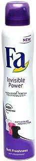 Fa Invisible Power Soft Freshness Anti-Perpirant Spray, 200ml