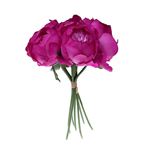 Wedding Bouquet Bouquet Bridesmaid Wedding Bouquet Bride Artificial Silk Flower, Home Decor, for New Year (PP)