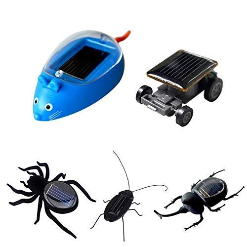 Dorime Solarenergie Vibriert Vorwärts Kunststoff Simulation Insekt Brinquedos Educative Kinder Sonnenenergie-Spielzeug-Kind Insecte Solar