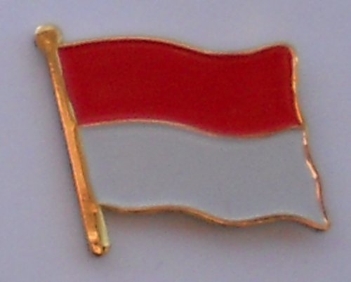 Pin / Badge Flagge Fahne Indonesien