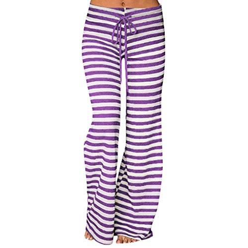 Pantalons Pantalon de Yoga Femme Taille Haute Bouffant Pantalon Harem Pantalons de Sport Pants Souple Super Doux Spandex Modal Pants Lanterne Sarouel Sport Bohème Imprimé en Coton