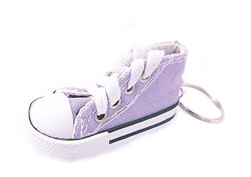 Familienkalender Sneaker Baby Kinder süßer Kleiner Schuh Schlüsselanhänger Anhänger helles violett