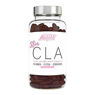 CLA - 60 x 1000mg Maximum Strength CLA Capsules - The Perfect Fat Loss Supplement - CLA Tablets To Help Boost Metabolism, Blast Stubborn Body Fat, Support Healthy Muscle & Overall Health - Feel Slimmer, Fitter, Stronger With Our All Natural Conjugated Lin