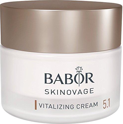 BABOR SKINOVAGE Vitalizing Cream, für müde & gestresste Haut, revitalisierend, unterstützt die Hautregeneration, Schutz vor blauem Licht, 50ml