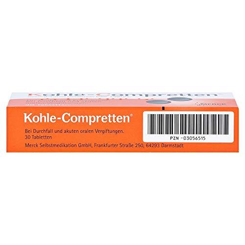 KOHLE Compretten Tabletten 30 St - 2