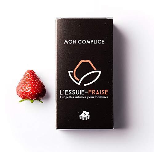 L'Essuie-Fraise : salviette intime per uomini: confezione da 6 bustine singole