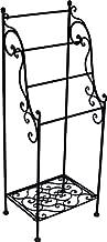KUHEIGA Handtuchhalter Handtuchst/änder Rost Braun H 109cm Handtuchhaken aus Metall
