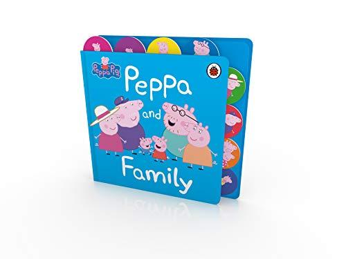 Peppa Pig: Peppa and Family: Tabbed Board Book
