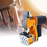 HUKOER Macchina per Cucire 2 Secondi/Borsa, Portatile Closer Stitcher Sacchetto di imballaggio Elettrico Sigillatura di Punti per Sacchi di Serpente Intrecciati Sacchi di Carta di plastica (220V)