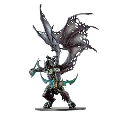 LJ-CLOOR World of Warcraft Figura Demon Form Illidan Figura Figura de acción