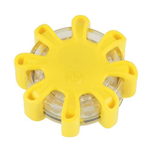 Éclairage de bord de route - Éclairage de secours de sécurité clignotant multifonction 8LED au bord de la route pour voiture/bateau (Couleur : Yellow)