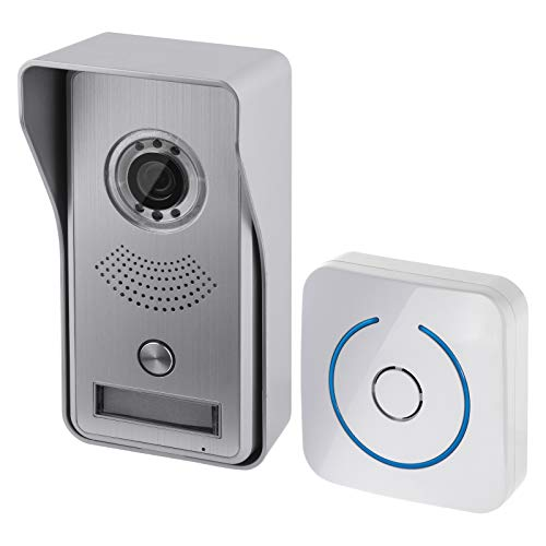 Emos Videoportero WiFi con Control de Aplicaciones videoportero inalámbrico con Unidad de cámara, Timbre y aplicación para función de interfono, detección de Movimiento