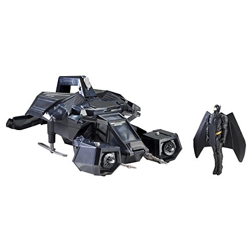 Batman – X2319 – The Dark Knight Rises – Bat Projectile – Véhicule et Figurine