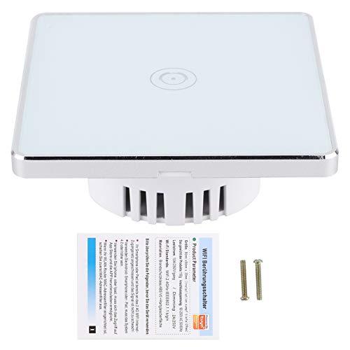 Snufeve6 Interruptor táctil inalámbrico, práctico Interruptor Inteligente de Uso práctico para Uso Profesional de Uso General para electrodomésticos para el hogar para la Oficina