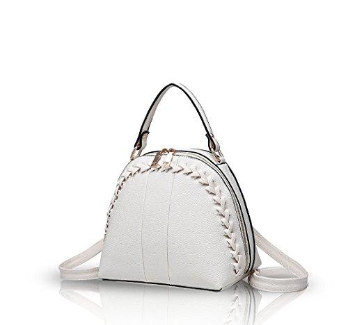 Nicole&Doris Semplice spalla borsa delle donne della borsa pacchetto diagonale 2016 nuova borsa di modo di svago(Creamy-white)