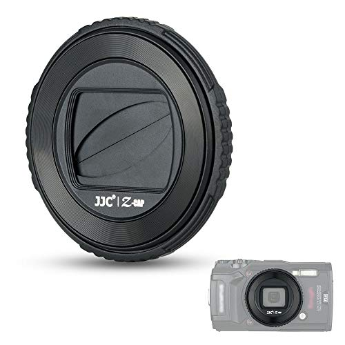 Lens Protector Cover for Olympus TG-6 TG-5 TG-4 TG-3 TG-2 and TG-1 Camera, Rotating Lens Cap, Replaces Olympus LB-T01 Lens Barrier