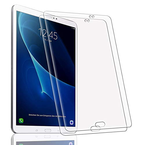 [2 Pack] Protector Pantalla para Samsung Galaxy Tab A 10.1 SM-T580 / T585, Cristal Film Protector de Pantalla de Vidrio Templado Alta Claridad 9H Dureza Resistente Anti-Arañazos