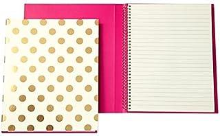 kate spade new york Spiral Notebook - Gold Dots