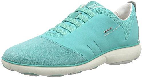 Geox Geox D NEBULA C, Damen Sneakers, Türkis (WATERSEAC3003), 35 EU