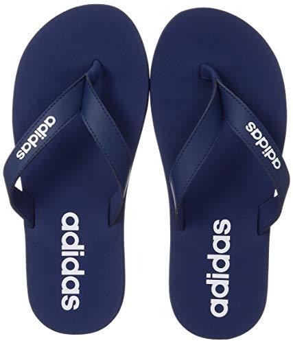 adidas Herren Eezay Flip Flop Sneaker, Tech Indigo/FTWR White/Tech Indigo, 46 EU/11 UK