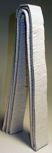 Karate Gürtel Weiß für Kinder, 160cm für Karate, Kickboxen, Shotokan, Shito-Ryu, Goju Ryu und Martial Arts