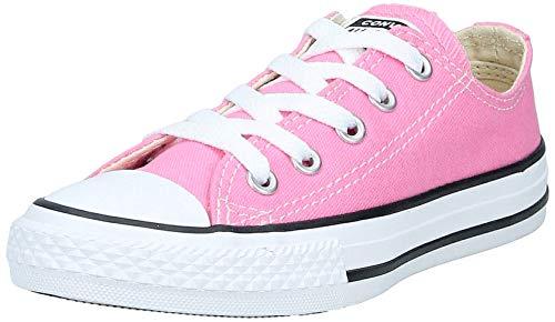 Converse Chuck Taylor All Star - Zapatillas de Lona Infantil, Rosa (Pink), talla 19 EU