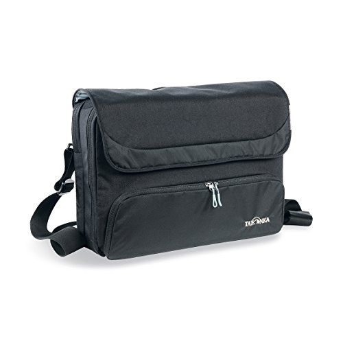 Tatonka Office Shoulderbag Tasche, Black, 41 x 30 x 10,5 cm