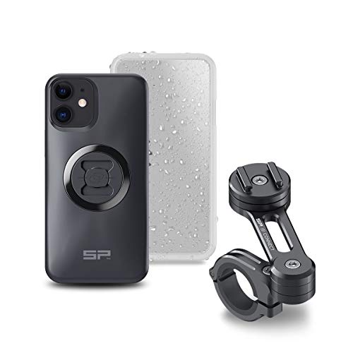 SP Connect 53932 Moto Bundle, Schwarz, iPhone 12 Mini, Set of 5