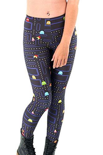 Women's Pac-Man Maze Print Leggings