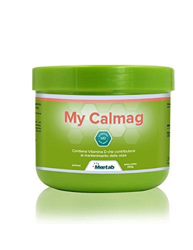 Meetab - My Calmag - Integratore a base di Calcio, Magnesio e Vitamina D