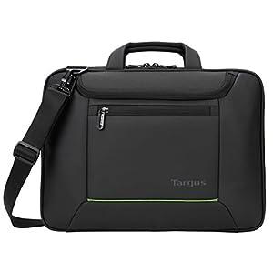 "41kV9NteNbL. SS300  - Targus Balance EcoSmart 15.6"" maletines para portátil 39,6 cm (15.6"") Maletín Negro - Funda (Maletín, 39,6 cm (15.6""), Tirante para hombro, 1,29 kg, Negro)"