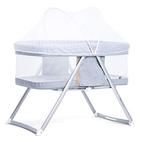 Why Choose Balance Bouncer Cradle Baby Bed Folding Crib Splicing Multi-Functional Portable Cradle Be...