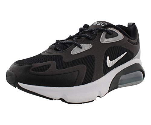 Nike Air MAX 200 WTR, Zapatillas para Correr Hombre, Multicolor Antracita Metalizado Plateado Negro Blanco 008, 45 EU