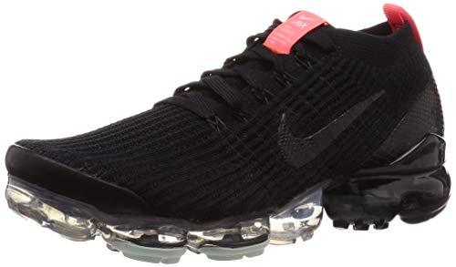 Nike Mens Air Vapormax Flyknit 3 Black/Black-Igloo Aj6900 023 - Size 8.5