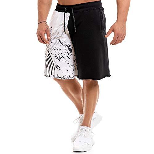 Kurz Hose Neue Männer Neue Baumwollshorts Herren Lose Shorts Fitness Bodybuilding Jogger Herren Marke Jogginghose Fitness Workout Shorts M 02