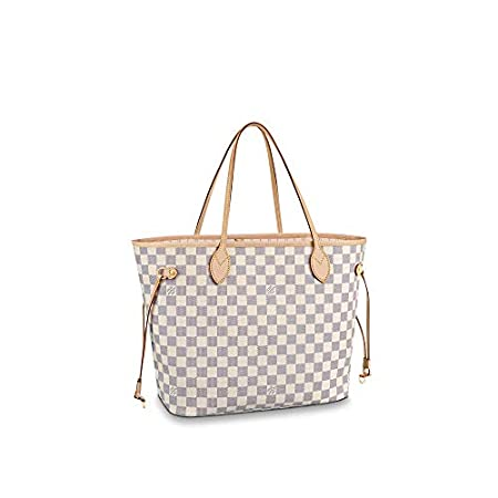 Fashion Shopping Louis Vuitton Neverfull MM Damier Azur Bags Handbags Purse