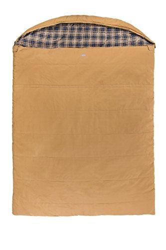 2160229 Kamp-Rite Overnighter 2 Person Sleeping Bag - Canvas