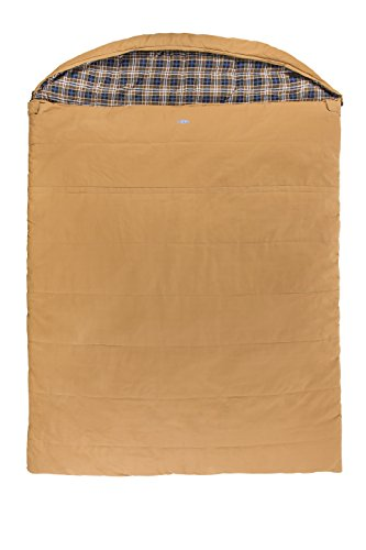 2160229 Kamp-Rite Overnighter 2 Person Sleeping Bag - Canvas