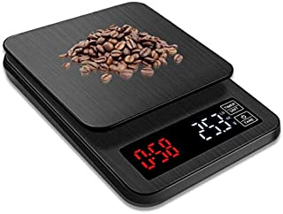 SKEIDO 5kg/0.1g LCD Digital Drip Coffee Scale with Timer weight Balance Household scale