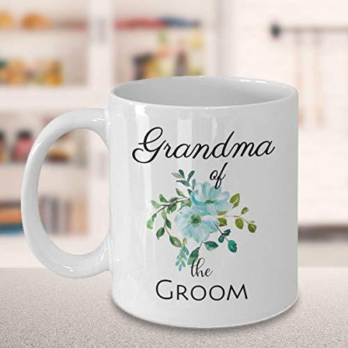 N\A Taza Grandma of The Groom en Menta Floral