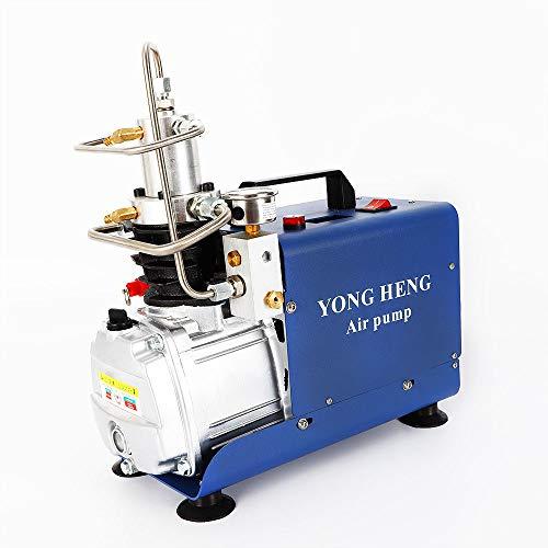1800W Hochdruckluftpumpe, 30MPA Elektrische Kompressor Pumpe Hochdruck Luftpumpe Pumpe,Automatischer Stopp