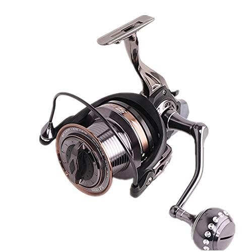 XXBFDT Cuscinetti a Sfera Mulinello da Pesca Spinning - Mulinello da Pesca a Lungo Raggio Interamente in Metallo per la Pesca in Mare-Tipo 12000