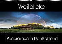 Weitblicke - Panoramen (Wandkalender 2022 DIN A2 quer): Faszinierende Landschaften im Panoramaformat (Monatskalender, 14 Seiten )