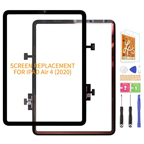 For iPad Air 4 4th Gen A2324 A2072 A2325 A2316 Screen Replacement For iPad Air 4 (2020) 10.9 Front Outer Glass Len(Not Touch Screen,No LCD)