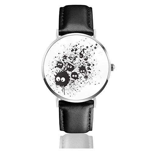 Unisex Business Casual Warriors Baseball Furies Uhren Quarz Leder Uhr mit schwarzem Lederband für Männer Frauen Young Collection Geschenk