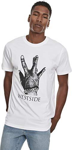 Mister Tee herenbroek Ladies Cargo joggingbroek T-shirt, wit (wit 00220), W (fabrikantmaat: XS)
