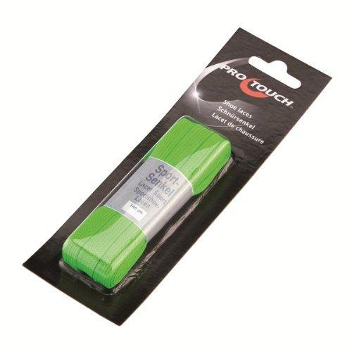 Schnürsenkel 140 Cm Flach Breit - neon grün, Größe INT:- by Intersport