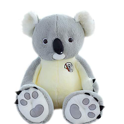Juguete de Peluche 80 cm Nuevo Gigante Grande tamaño Grande Koala Felpa Juguete Suave Juguete Relleno muñeca cumpleaños Regalo